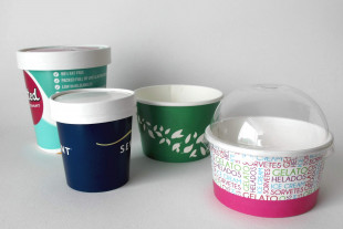 Ice Cream Paper Cup / Tub