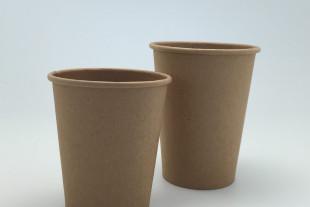 แก้วกระดาษ Single Wall Kraft Paper Cup